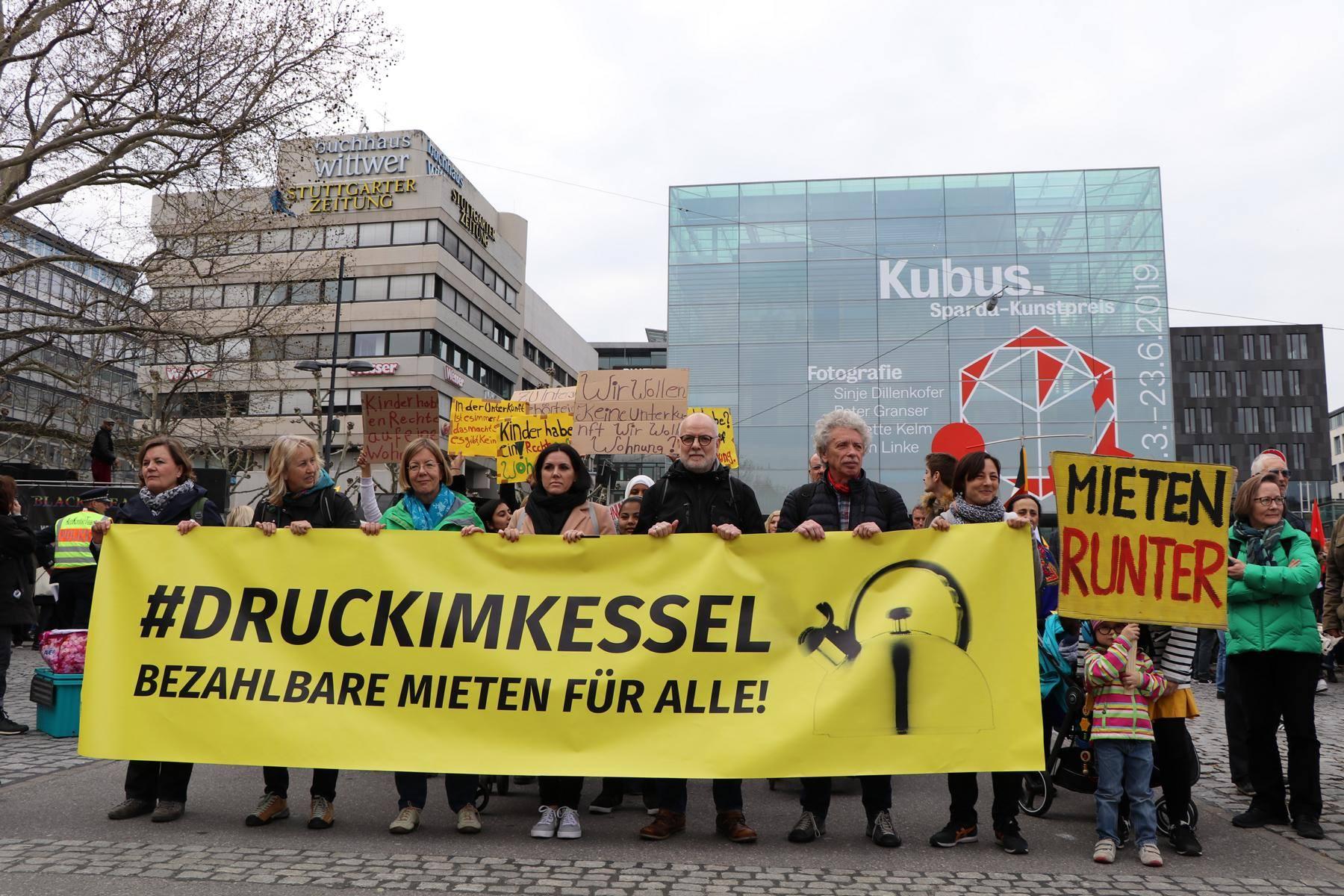 Demonstration Stuttgart Heute